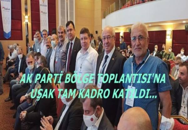 AK PARTİ YEREL YÖNETİMLER BÖLGE TOPLANTISI BALIKESİR DE GERÇEKLEŞTİ...