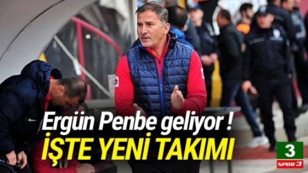Ergün Penbe Gaziantepspor'a geliyor