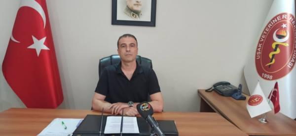 Uşak Veteriner Hekimleri Odası Başkanı Cihat Ceylan'dan Uyarı.