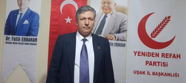 Yeniden Refah Partisi Uşak İl Başkanı Erdoğan Çiloğlu ERBAKAN'ı Rahmet ve Minnetle Anıyoruz....